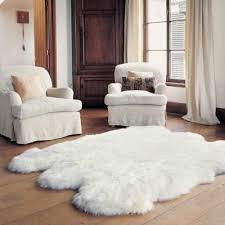 bowron sheepskin rug sixto ivory