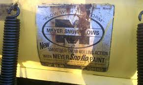new to site old meyer plow plowsite plow worked well on my first snowfall no slippage on my driveway plenty of power the truck over my old tractor now on to the lights