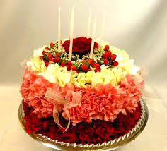 Happy Birthday Cake Flowers Pictures Remarkable Inspiration And Nice