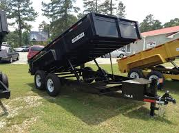 inventory we have something for everyone 2016 bri mar 7 x14 dump trailer