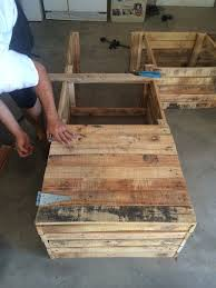 diy outdoor pallet sectional. DIY Outdoor Furniture Pallet Sectional Couch Sofa Outside Deck Guest Company People Hosting Events Do It Diy