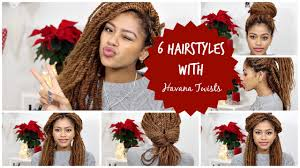 Diffrent Hair Style 6 different hairstyles with havana twists tasha green youtube 4294 by wearticles.com