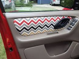 diy car door upholstery are the inside of your car doors looking shabby give them a makeover with spray adhesive and some decorative fabric