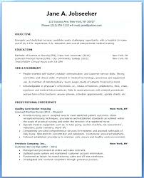 Student Resume Objectives Interesting Resume For Nursing Student Nursing Student Skills For Resume Nursing