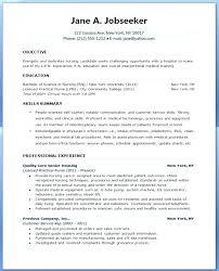 Sample Resume For Nursing Student Simple Resume For Nursing Student Nursing Student Skills For Resume Nursing