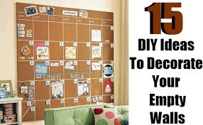 15 diy ideas to decorate your empty walls on wall decor for big empty walls with 15 diy ideas to decorate your empty walls diy home things