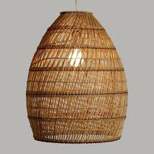 natural lamp shade natural bamboo pendant lamp shade basket weave hand woven rustic vibe natural linen natural lamp shade