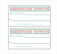 Easy To Make Homemade Coupon Template Download Free Layout Strand