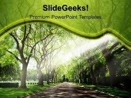 Garden Pathway Nature Powerpoint Templates And Powerpoint Themes ...