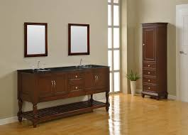 Double Bathroom Sink Cabinet J J International 70 Mission Espresso Double Sink Vanity