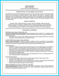 Medical Device Sales Resume Sample Resume For A Cash Manager Nurse ...