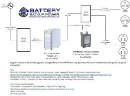 wiring diagrams for hardwire ups battery backup power, inc 15 Amp Plug Wiring Diagram hardwire ups wiring diagram 6kva 240 volt input 240 volt output 15 amp 2 pole plug wiring diagram