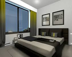 modern and simple bedroom apartment design style