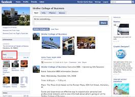 shidler college of business facebook pages
