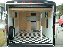 Cabinets For Cargo Trailers 25 Best Ideas About Enclosed Trailers On Pinterest Enclosed