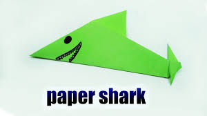 paper shark making color paper album on ur paper shark making color paper
