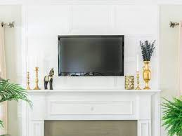 how to hide tv cables with molding