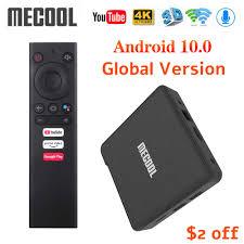 <b>Mecool KM3 ATV</b> Android 10.0 <b>Google</b> Certified TV Box 4GB 64GB ...