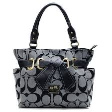 Luxury Coach Madison In Signature Large Grey Totes ANH Makes You More  Elegant. Different Life Gives You Diffrrent Enjoyment, And Cherish All That  Y… ...