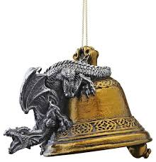 Medieval Gothic Dragon Christmas Holiday Decoration Ornament ...
