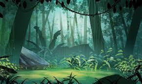 Jungle illustration, Environment ...
