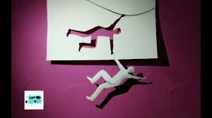 cool 3d paper art 3d art on paper step by step how to make 3d paper art cool magic with paper