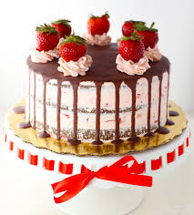 Sugar Free Gluten Free Chocolate Strawberry Cake Mom Loves Baking