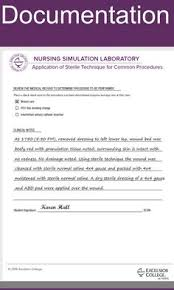 Nursing Charting Guidelines Nursing Documentation