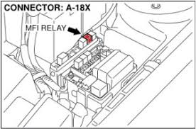 how to test a mitsubishi eclipse mfi relay my pro street Mitsubishi 3000gt Fuse Box Diagram Also 99 Eclipse how to test your mitsubishi mfi relay 6 Mitsubishi Fuse Box Layout