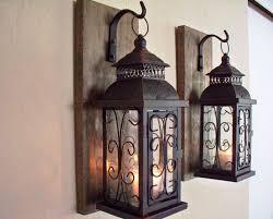 image of wall mounted lantern hooks