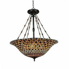 modern tiffany hand painted glass pendant lighting 9345