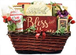 bless this home housewarming gift basket for new homeowners