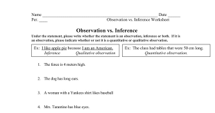 Inference and Observation Worksheet.doc - Google Docs