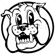 friendly bulldog mascot clipart. Perfect Mascot Bulldog Black And White Clipart Inside Friendly Mascot H