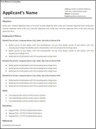 Free Blank Resume Templates For Microsoft Word Impressive Resume Templates Free Download For Microsoft Word Gfyork Printable