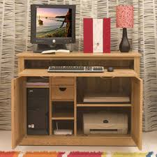 atlas chunky oak hidden home. baumhaus mobel oak hidden home office hideaway atlas chunky
