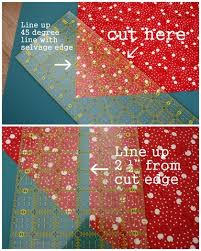 Bias Bindings and rounded quilt corners 101 & First, open your fabric and lay right-side up on the cutting mat. (I am  using a ½ yard piece of fabric. That's more than enough for a baby quilt,  ... Adamdwight.com