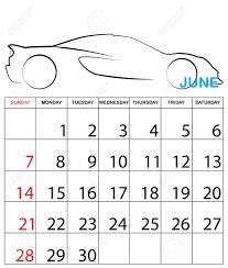 Simple 2015 Calendar An Illustration Of A Simple 2015 Year Calendar Royalty Free Cliparts