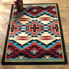 western style runner rugs endearing southwestern 0