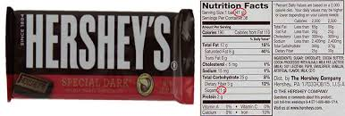 hershey dark chocolate bar nutrition facts. Unique Bar A Hersheyu0027s U0027Special Darku0027 Chocolate Bar And Nutrition Facts On Hershey Dark Facts I