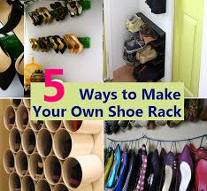 5 Ways to Make Your Own Shoe Rack