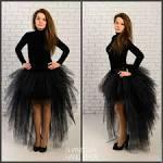 Фатиновая юбка со шлейфом 21