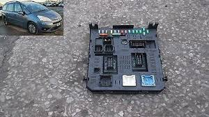 citroen fuse box replacement fuse boxes fuse box bsi 9663510180 citroen c4 grand picasso 1 8 06 13 yk07zwd sheffield