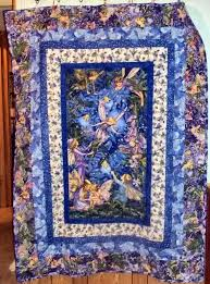 Best 25+ Handmade quilts for sale ideas on Pinterest | Handmade ... & Sale Beautiful Handmade Quilt Made with Fabric from Fairy frost and Nite  fairies for Michael Miller Adamdwight.com