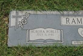 Aurora Robles Ramirez (1930-2018) - Find A Grave Memorial