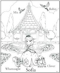 Sofia Coloring Page The First Mermaid Colouring Pages Coloring Page