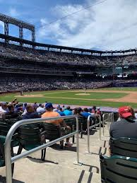 Citi Field Section 112 Home Of New York Mets