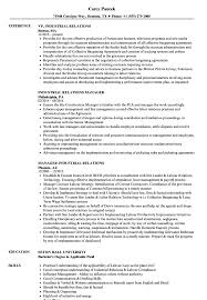 Industrial Resume Examples Industrial Relations Resume Samples Velvet Jobs 24