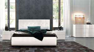 high end modern furniture. Bedroom Decorated Interior Ideas Inspiration Design Chandeprestige White Finish Modern Platform Set Sma Furniture High End R