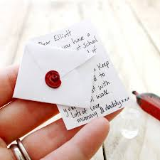 original tiny wax seal stamp for magic fairy letters